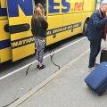 Ecolinesi bussist lekkis väljaheiteid otse tänavale