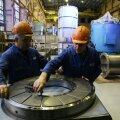 Российские и белорусские строители открывают на Белорусской АЭС