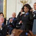 USA kõrgeima tsiviilautasu said teiste seas Oprah Winfrey ja Bill Clinton