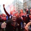 VIDEOD | Šotimaa fännid tunnevad end suure mängu eel Londonis mõnusalt