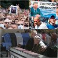 Protestid Minskis ja Habarovskis, matused Kiievis