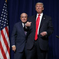 Rudy Giuliani ja Donald Trump
