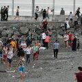 Hispaania enklaavi Maroko rannikul saabus päevaga vähemalt 5000 sisserändajat