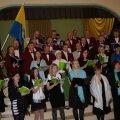 Ühendkoorid kontsert-aktuse: Foto: R.Toompere