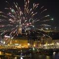 Rootsis möödus uusaastaöö rahutult: rakette tulistati nii politsei- kui kiirabiautode pihta