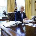 Trump Valge Maja Ovaalkabinetis