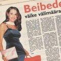Miss Estonia '96 Helen Mahmastol. Ehkki missid saavutavad oma positsiooni tänu välimusele, on edukad modellid harva beibed.