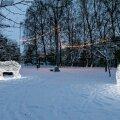ФОТО | Ледовые площадки в Кристийне приглашают насладиться зимними радостями