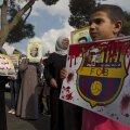 Jalgpall võitis poliitika: palestiinlased eirasid üleskutset El Clásicot boikottida
