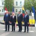 USA kaitseminister kritiseeris Vilniuses Venemaa destabiliseerivat vägede koondamist