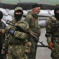 Masked Russian-backed rebels in Eastern Ukraine