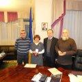Лидеры украинской общины Эстонии получили медали от Петра Порошенко
