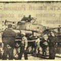 """Tankid keset Tallinnat, foto ajalehest """"Sovetskaja Estonia"""""""
