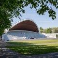 Tallinna Lauluväljaku renoveeritud laulukaar