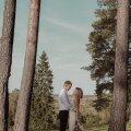LUMMAVAD FOTOD | Kui suuri pulmi praegu korraldada ei soovi või ei julge, võib abielluda ka kahekesi, kasvõi salaja. Mai ja Martini lugu