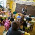 Kui praegu lubatakse koolis käia vaid teatud klassidel (1.-4. klass, 9. ja 12. klass), siis 25. jaanuaril on oodata kõnealustes maakondades kontaktõppe taastumist täiel määral. Pilt on illustratiivne.