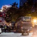 DELFI FOTOD SÜNDMUSKOHALT: Tallinna kesklinnas toimus tulistamine