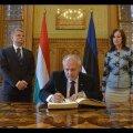 ВИДЕО: Спикеры парламентов Эстонии и Венгрии обсудили возможности сотрудничества