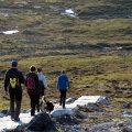Matkajad Soome piirialadel Enontekiö vallas