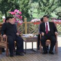 FOTOD | Põhja-Korea juht Kim Jong-un kohtus Dalianis Hiina presidendi Xi Jinpingiga