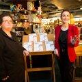 DELFI FOTOD: Kadri Paas ja Katariina Krjutškova esitlesid raamatut Andrus Ansipist