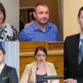Heljo Pikhof, Kalvi Kõva, Dmitri Dmitrijev, Jaak Madison ja Anneli Ott