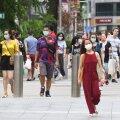 Seni kiita saanud Singapur kaotas kontrolli viiruse üle ja paneb kõik mittehädavajaliku kinni