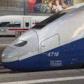 Saksa ja Prantsuse kiirrongid kõrvuti