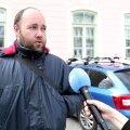 VIDEO   Protestija Daniel Rüütmann plaanib talle otsa sõitnud keskerakondlaselt valuraha küsida