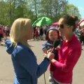 VIDEO: Birgit Õigemeel tuli esimest korda Maijooksule ja kui juba, siis terve perega!