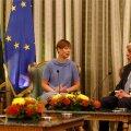 President Kersti Kaljulaid ja Kreeka president Prokópis Pavlópoulos