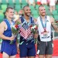 USA kümnevõistluse olümpiakoondis (vasakult) Steven Bastien, Garett Scantling ja Zach Ziemek.