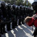 ФОТО И ВИДЕО | Несогласованная акция протеста в Москве сопровождалась массовыми задержаниями. Пострадал боец спецназа