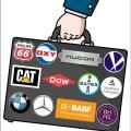 Mittetulundusühingu Estwatch eestvedaja Uku Lilleväli vaatles pensionifonde, kuhu eestlased saavad teise samba raha koguda. Oma uurimuse tarbeks moodustas ta keskkonna-teemadega tegelevate Carbon Disclosure Projecti ja InfluenceMapi andmeid kasutades valimi ettevõtetest, mis on kliima suhtes ühed vastutustundetumad. Illustratsioonil logodega esile toodud ettevõtted on vaid mõned tuntumad, mis nimekirja sattusid.