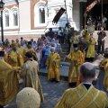 Богослужение в соборе Александра Невского