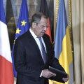 """Venemaa eitas """"vihast sinise"""" Lavrovi jalgalaskmist Normandia kohtumiselt"""