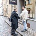 Eerik Niiles Kross ja Mihheil Saakašvili kohtusid Tallinna vanalinnas