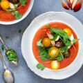 Külm tomatisupp nektariiniga