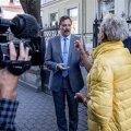 Reformierakonna aktsioon Tallinna volikogu ees