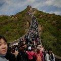 ФОТО | Коронавирус? Дистанция? Нет, не слышали: огромные толпы туристов на Великой Китайской стене