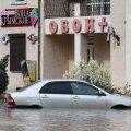 Aftermath of heavy rains in Kerch, Crimea