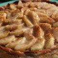 Õunakook toorjuustu ja kaerahelvestega