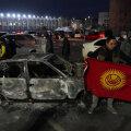 В ходе столкновений в Киргизии пострадали 590 человек. Один погиб