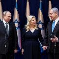 Putin tuli, Eesti mitte. Venemaa president Vladimir Putin (vasakul) ja Iisraeli peaminister Benjamin Netanyahu maailma holokaustifoorumi ajal Yad Vashemi keskuses Jeruusalemmas.