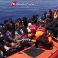 REUTERSI VIDEO: Lampedusa rannikuvetest päästeti veel 300 põgenikku