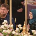 Ramzan Kadõrov koos ametliku naise Medniga
