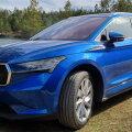 Garaažist välja: uus elektri auto Škoda Enyaq iV – ka maastur võib olla hea elektriauto