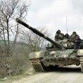 Vana nõukogude tank Mägi-Karabahhi ehk Artsahhi relvajõudude käes.
