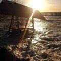 FOTOD: Patrick ajas Prangli saarel mere üle kallaste