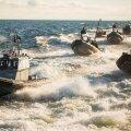 Eesti ja Soome eriüksusused harjutavad Tallinna-Helsingi liinilaeval puhkenud massikakluse lahendamist